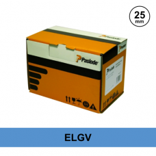 Paslode 012306 - S16 x 25mm Electro-Galv Divergent Point Staples - Qty: 3000 / 3 Gas