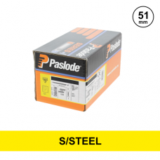 Paslode 140624 - 2.8 x 51mm S/Steel A2 Ring Nails - Qty: 1100 / 1 Gas