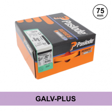 Paslode 141072 - 3.1 x 75mm Galv-Plus Ring Nails - Qty: 2200 / 2 Gas