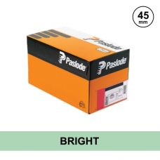 Paslode 142208 - 2.5 x 45mm Bright Unilock (Smooth Head) Nails - Qty: 750 (125/Coil) / 1 Gas